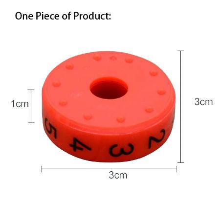 CC021:6ピース 磁気 モンテッソーリ キッズ 教育 プラスチック おもちゃ 子供 数学 番号 DIY 組み立て パズル 男の子 女の子 育脳 算数_画像3
