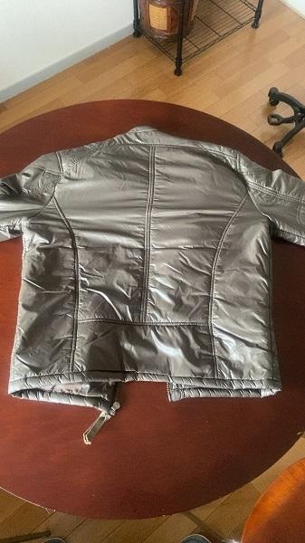 291295=homme ニーキューイチニーキューゴーオム ダウンジャケット サイズ Ⅱ M サイズ 相当 PAZZO パッゾ カラー 色 ブラウン こげ茶色_画像5
