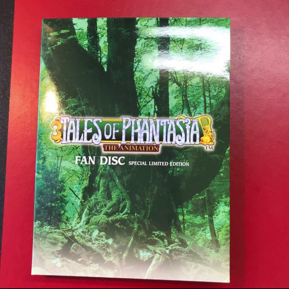 TALES of PHANTASIA FAN DISK DVD  2枚組