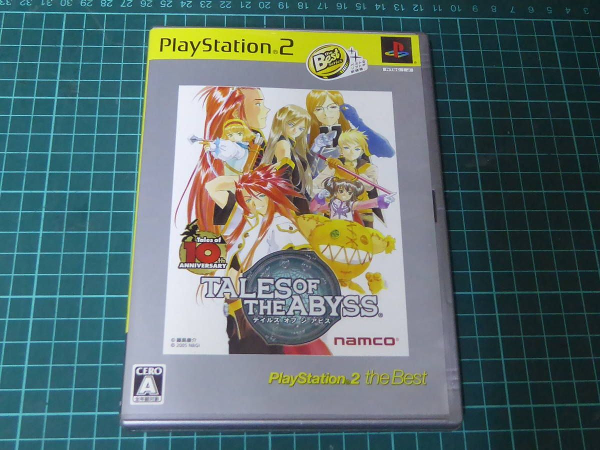 PS2 TALES OF THE ABYSS テイルズ オブ ジ アビス namco 201202701