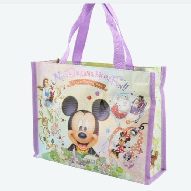 ディズニーリゾート お土産 チョコレートのバッグのみ ミッキー 美女と野獣 ベイマックス ミニー