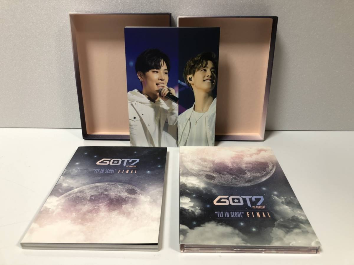 【中古DVD】 GOT7 1st concert FLY IN SEOUL FINAL 【韓国盤】_画像3