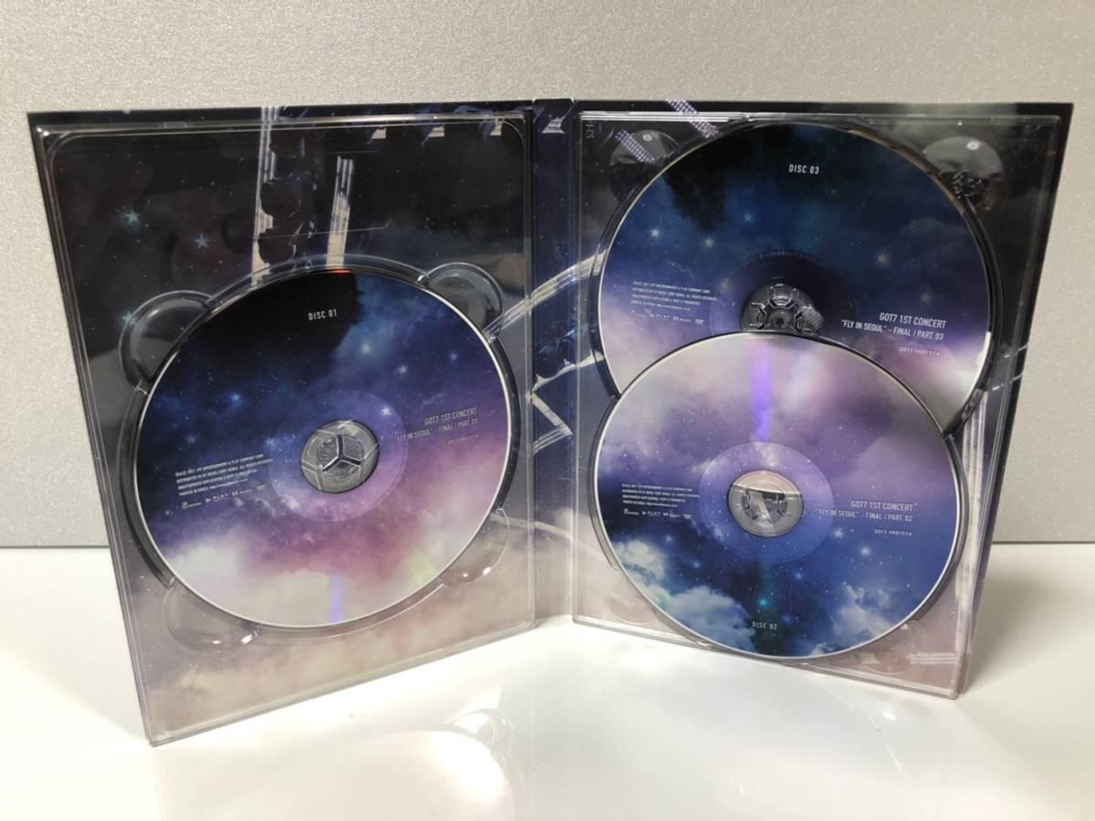 【中古DVD】 GOT7 1st concert FLY IN SEOUL FINAL 【韓国盤】_画像5