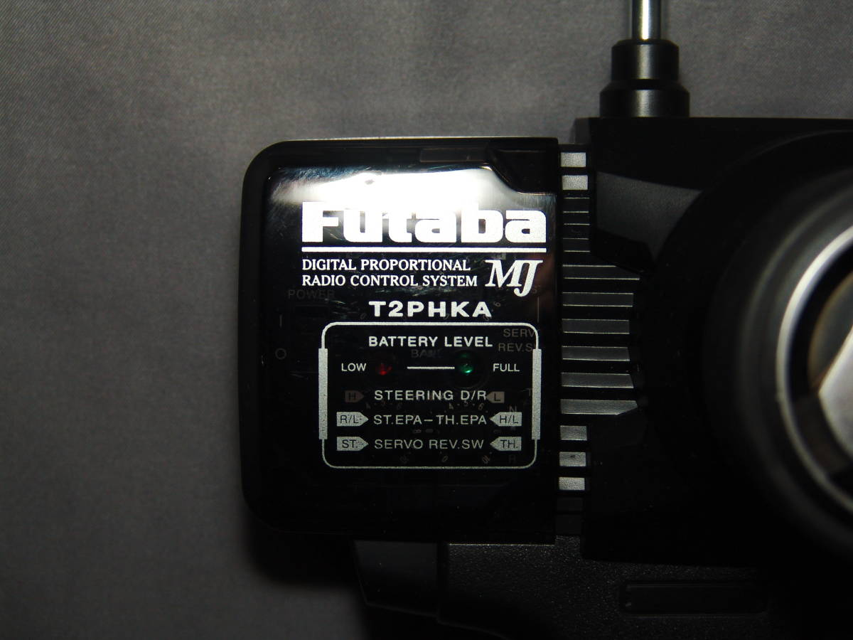 Futaba AM27MHz プロポセット 送信機(T2PHKA) & 受信機(FP-R122JE)x2個 バンド:ナロー10番 & ワイド5番(ナロー10番相当)