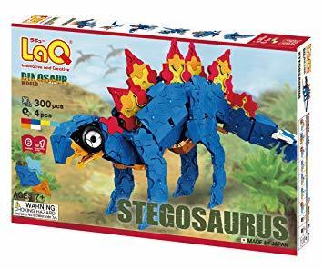 ラキュー (LaQ) ダイナソーワールド(DinosaurWorld) ステゴサウルス_画像1