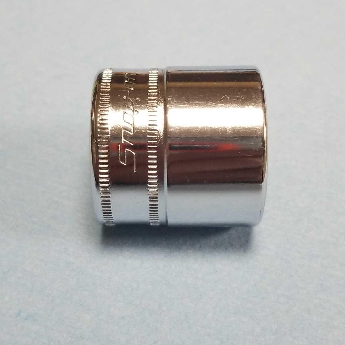 未使用 23mm 3/8 シャロー スナップオン FM23 (12角) 新品 保管品 SNAPON SNAP-ON シャローソケット ソケット 送料無料 Snap-on _画像4