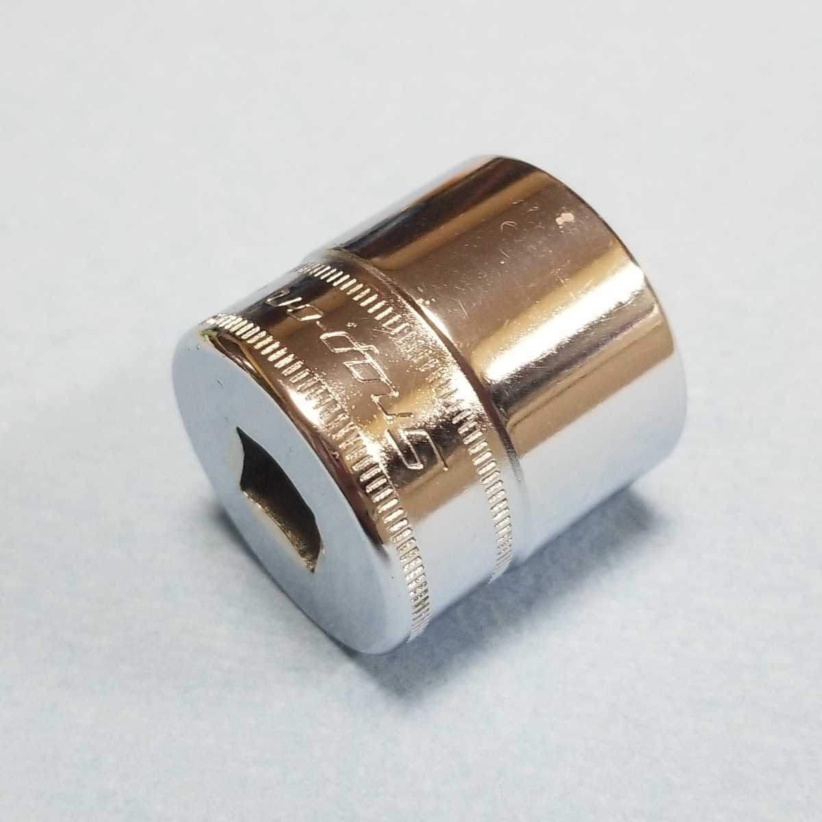 未使用 23mm 3/8 シャロー スナップオン FM23 (12角) 新品 保管品 SNAPON SNAP-ON シャローソケット ソケット 送料無料 Snap-on _画像5