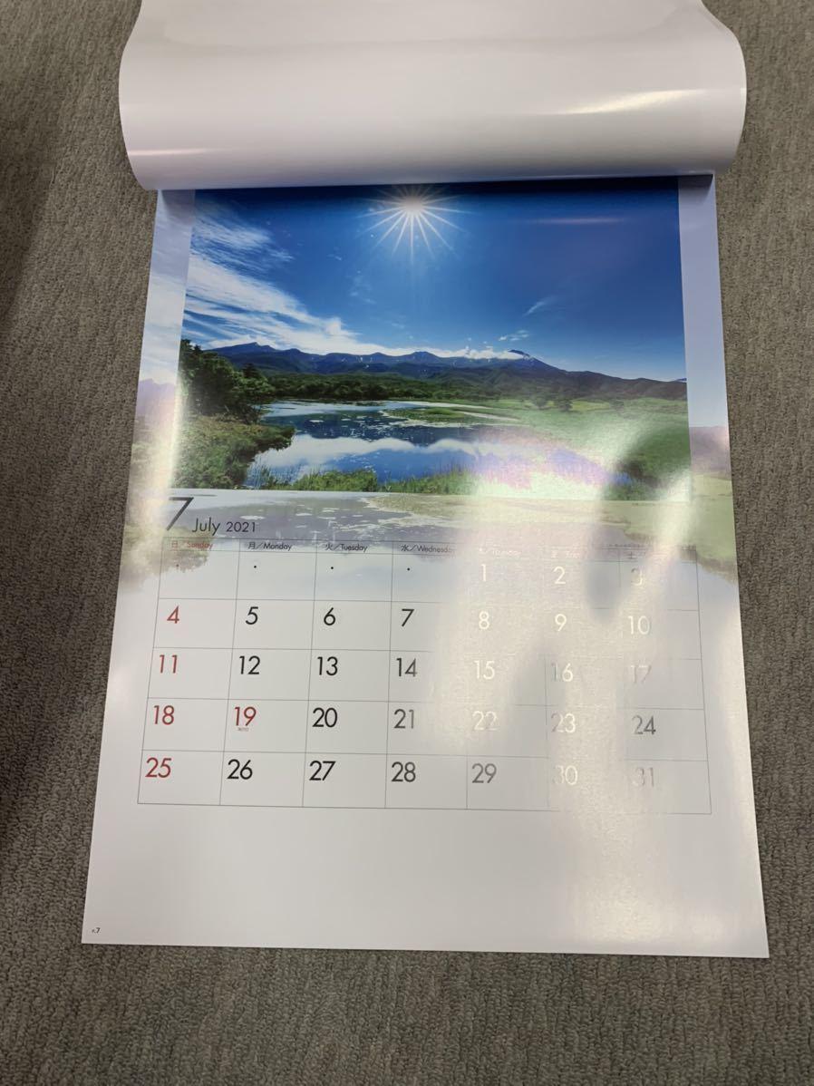 2021 四季水景 壁掛けカレンダー 風景 カレンダー_画像3