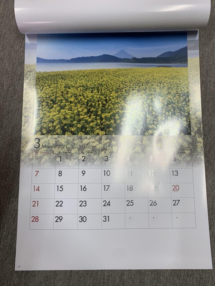2021 四季水景 壁掛けカレンダー 風景 カレンダー_画像2
