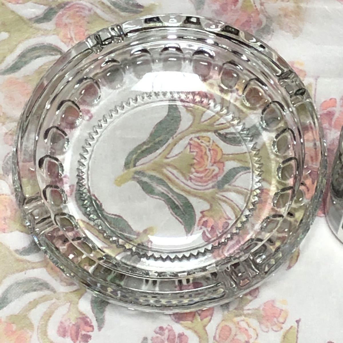 クリスタルガラス 灰皿