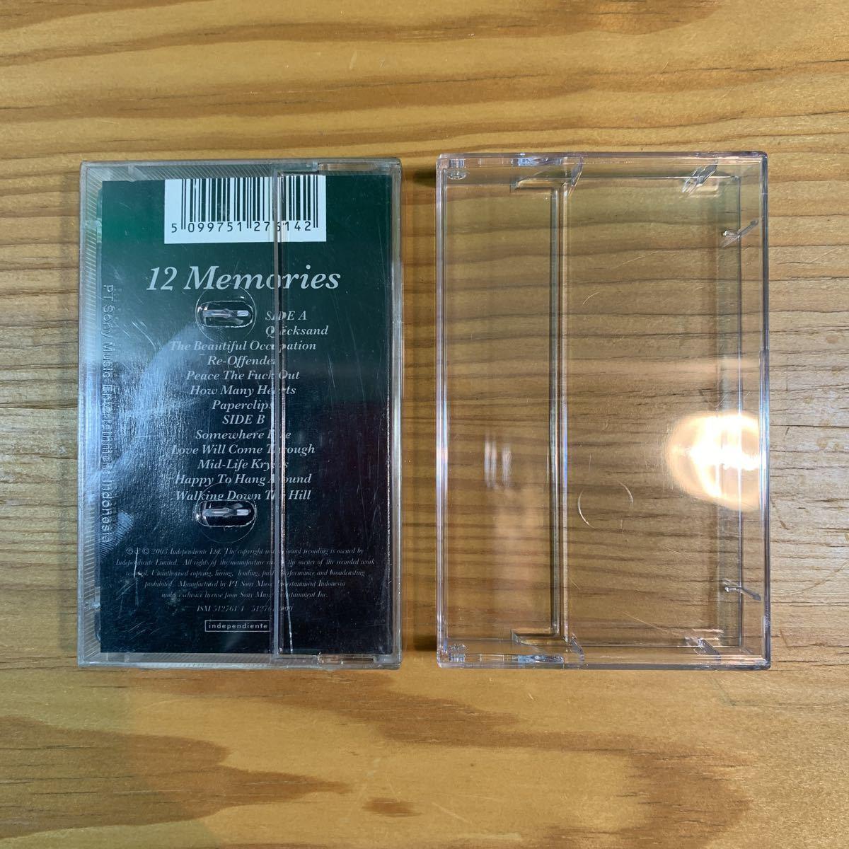 新品! Travis「12 Memories」カセットテープ 輸入盤 正規品 official トラヴィス シュリンク未開封 UK 90's レコード LP CD T-Shirt RARE!!_画像3