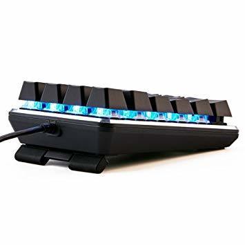 テンキーボード メカニカル式テンキーパッド 赤軸 21キー USB接続 ブラック Windows Mac 対応_画像5