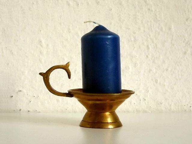 ●○真鍮製 キャンドルホルダー&ろうそくセット○●キャンドルスタンド燭台ろうそく立てドイツレトロビンテージアンティークヴィンテージ_画像2