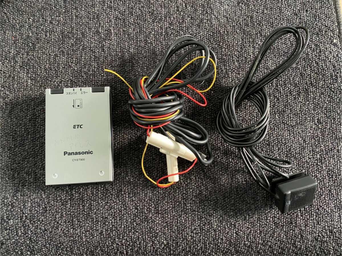 ETC車載器 パナソニック CY-ET900 R2120801_画像1