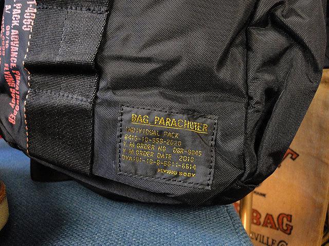 【252317】パラシュートバッグがモチーフ!ミリタリー系の老舗メーカーの逸品☆フライングボディバッグ  ワンショルダー(ブラック)_画像4