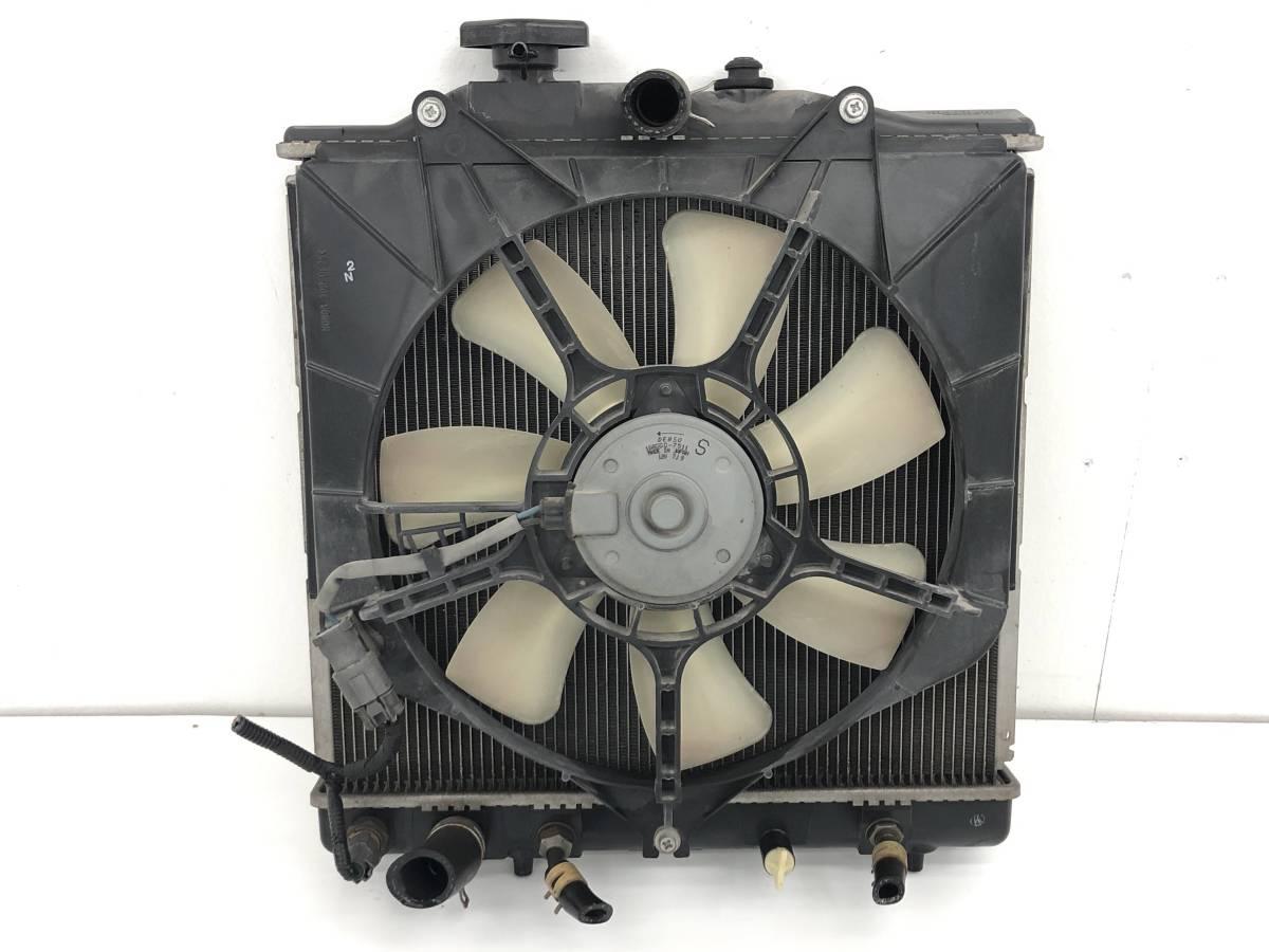 _b48187 ホンダ ライフ C DBA-JB5 ラジエター ラヂエータ 電動ファン付き モーター 422000-5361 / 168000-7511 JB6 JB7 JB8_画像5