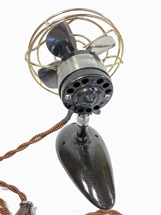 【実働】フルレストア 1940's アンティーク ミニ 扇風機/ビンテージ/デスク/家具/テーブル/モダン/バウハウス/照明/ランプ/gras/o.c.white_画像8