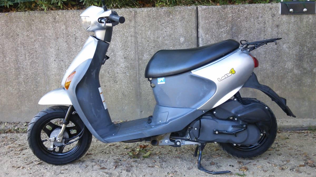 【中古】原付バイク スズキ レッツ4 CA45A _画像1