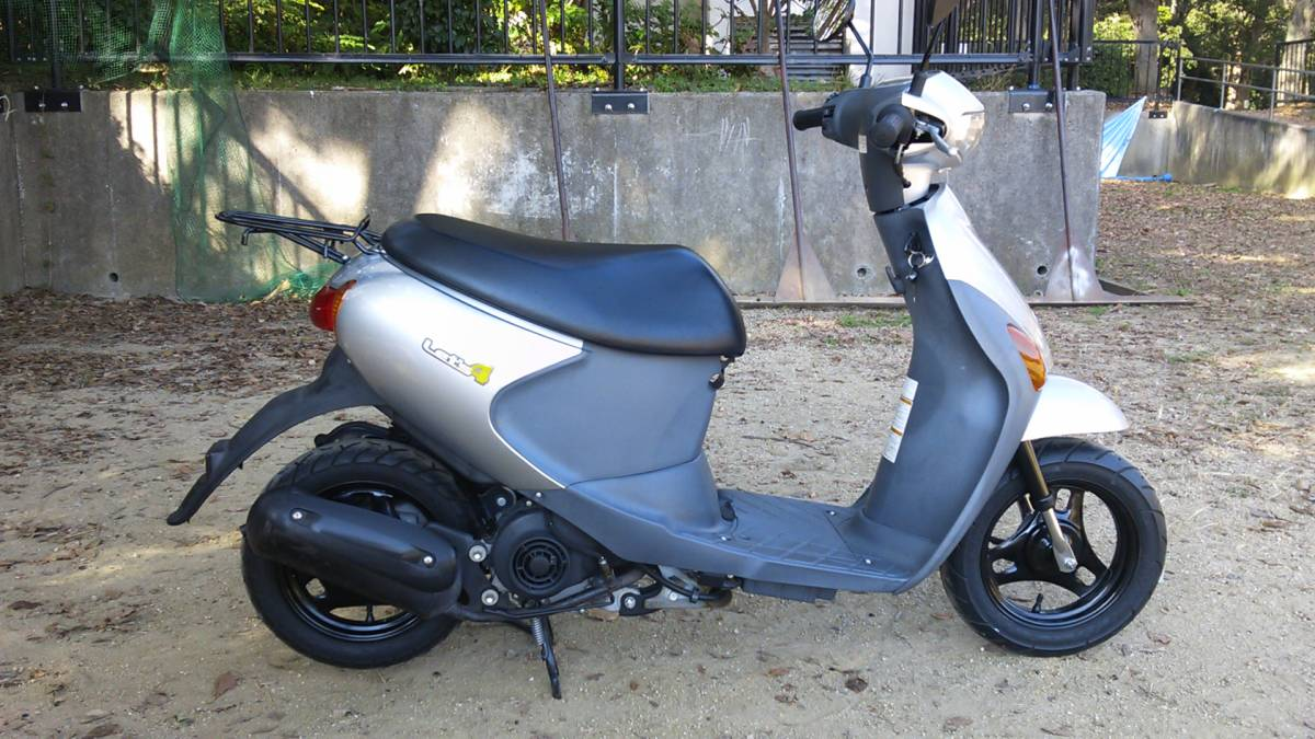 【中古】原付バイク スズキ レッツ4 CA45A _画像4