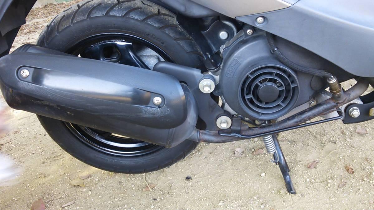 【中古】原付バイク スズキ レッツ4 CA45A _画像9