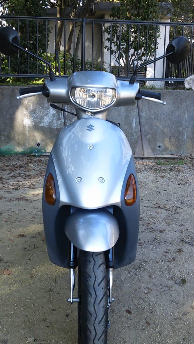 【中古】原付バイク スズキ レッツ4 CA45A _画像2