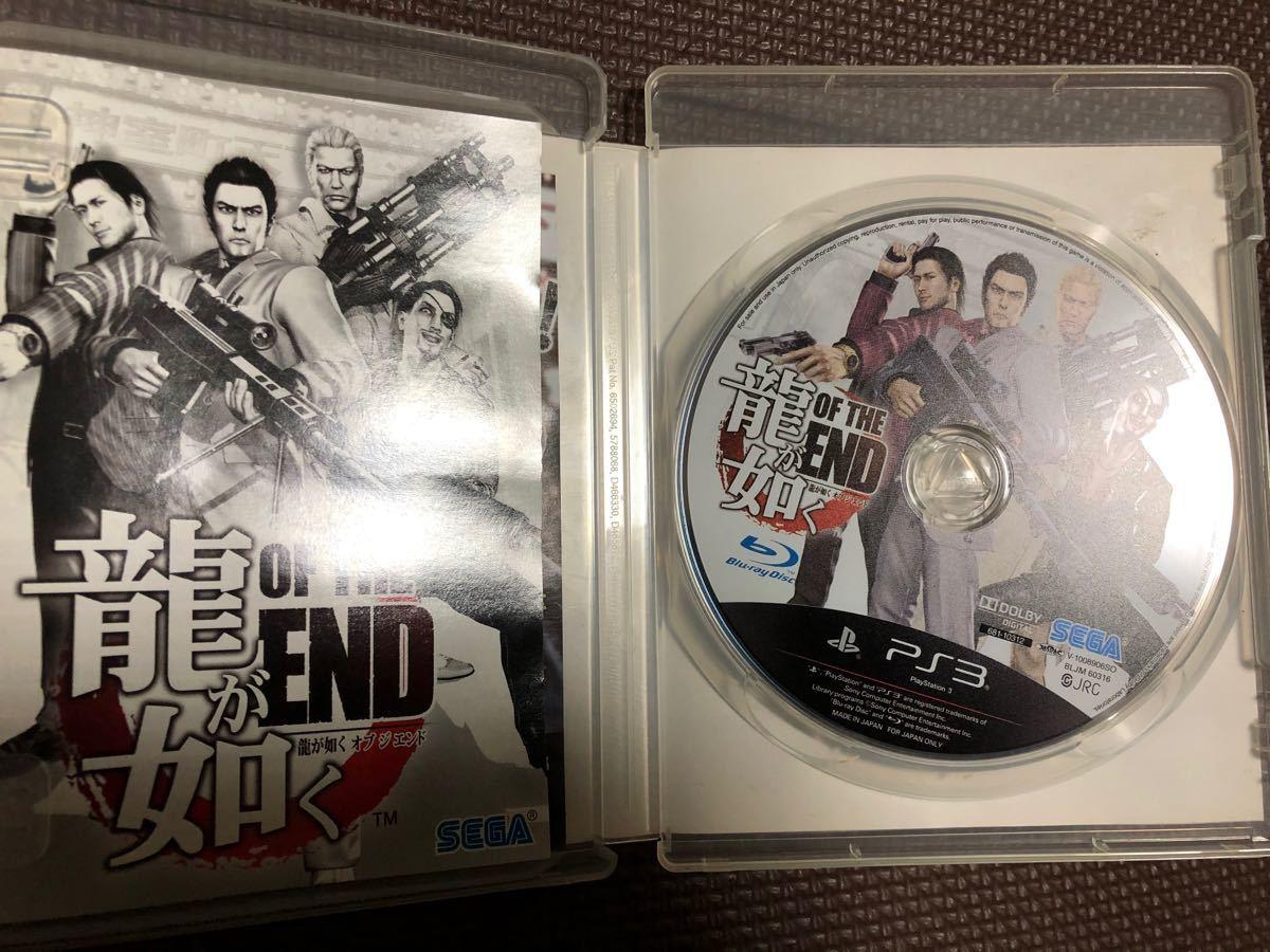 PS3  龍が如く OF THE END☆龍が如くシリーズスピンオフソフト♪龍が如く版バイオハザードです!(^ω^)