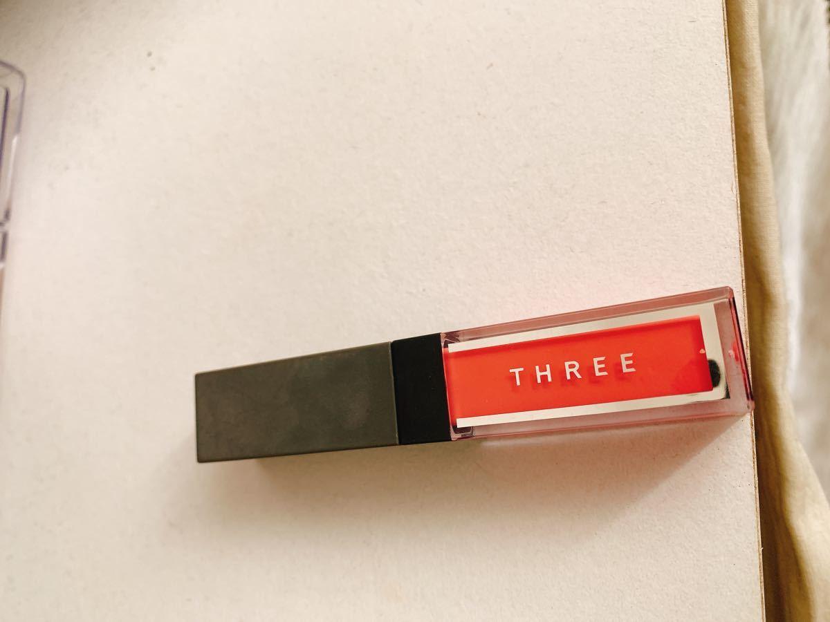 THREE  リップグロス チーク