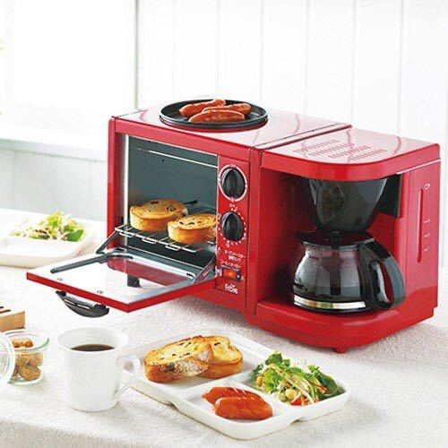 限定セール オーブンレンジ コーヒー ホットプレート トリオクッカー キッチン ドリッパー フライパン グリル トースター