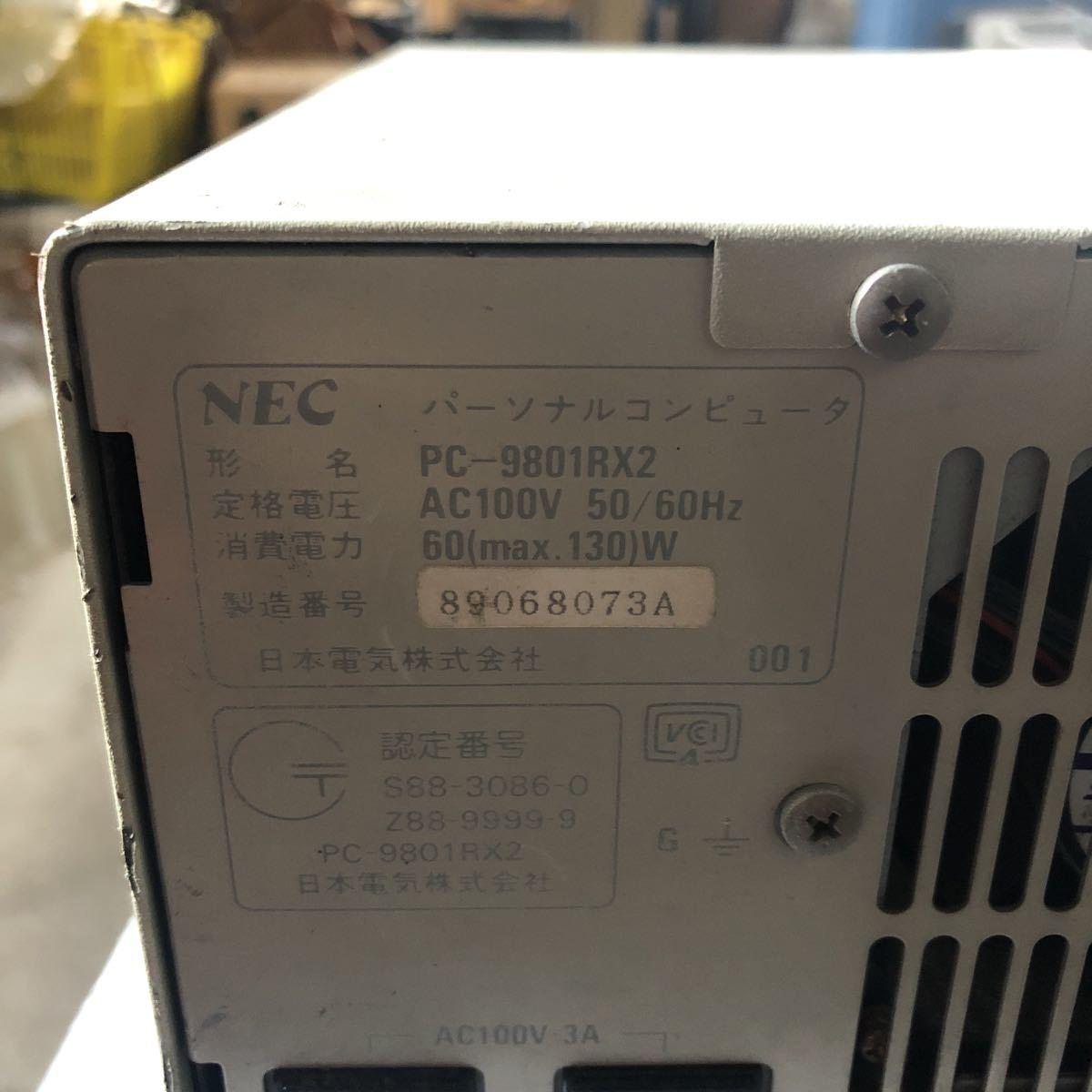 NEC PC-9801RX2_画像4