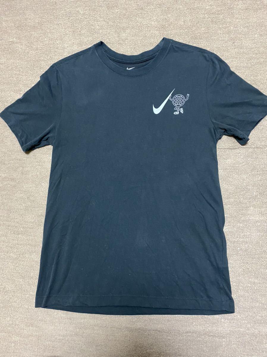 送料格安スピード発送!良品★NIKEナイキのDRI-FITランニングTシャツ★Mサイズ登山トレランマラソンフェスキャンプトレッキング