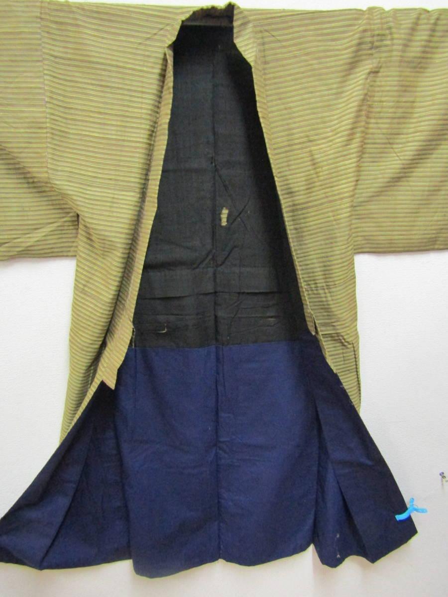 綿更紗男着物(a500)_画像5