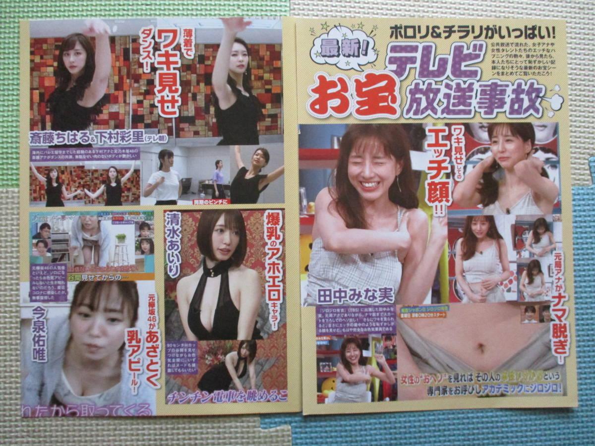 ポロリ 田中 田中律子の懐かしい水着姿から今のカッコイイ田中律子の高画質画像集