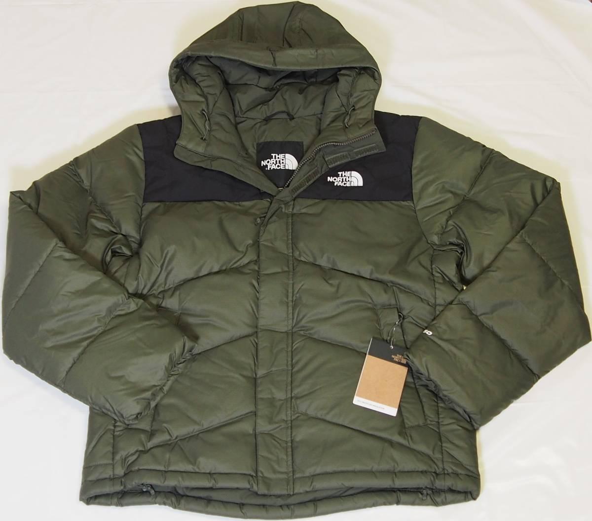 【USA購入、未使用タグ付】ノースフェイス Balham ダウンジャケット メンズ M グリーン Balham Down Jacket NEW TAUPE GREEN MATTE_画像1