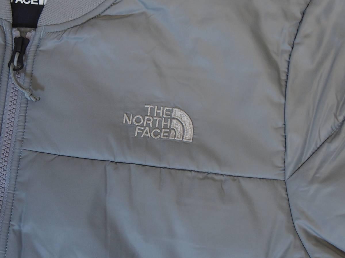 【USA購入、未使用タグ付】ノースフェイス 中綿ジャケット Lサイズ グレー The North Face Pardee Jacket_画像2