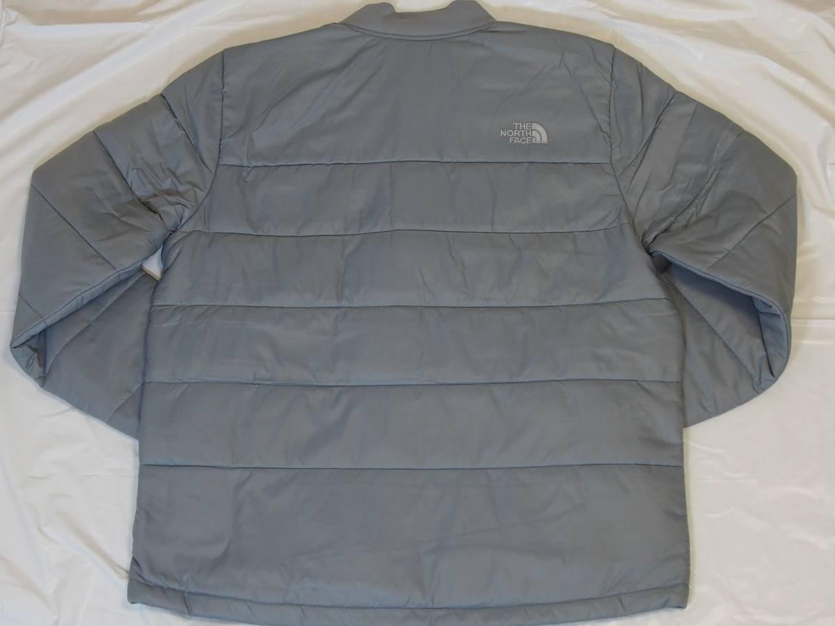 【USA購入、未使用タグ付】ノースフェイス 中綿ジャケット Lサイズ グレー The North Face Pardee Jacket_画像3