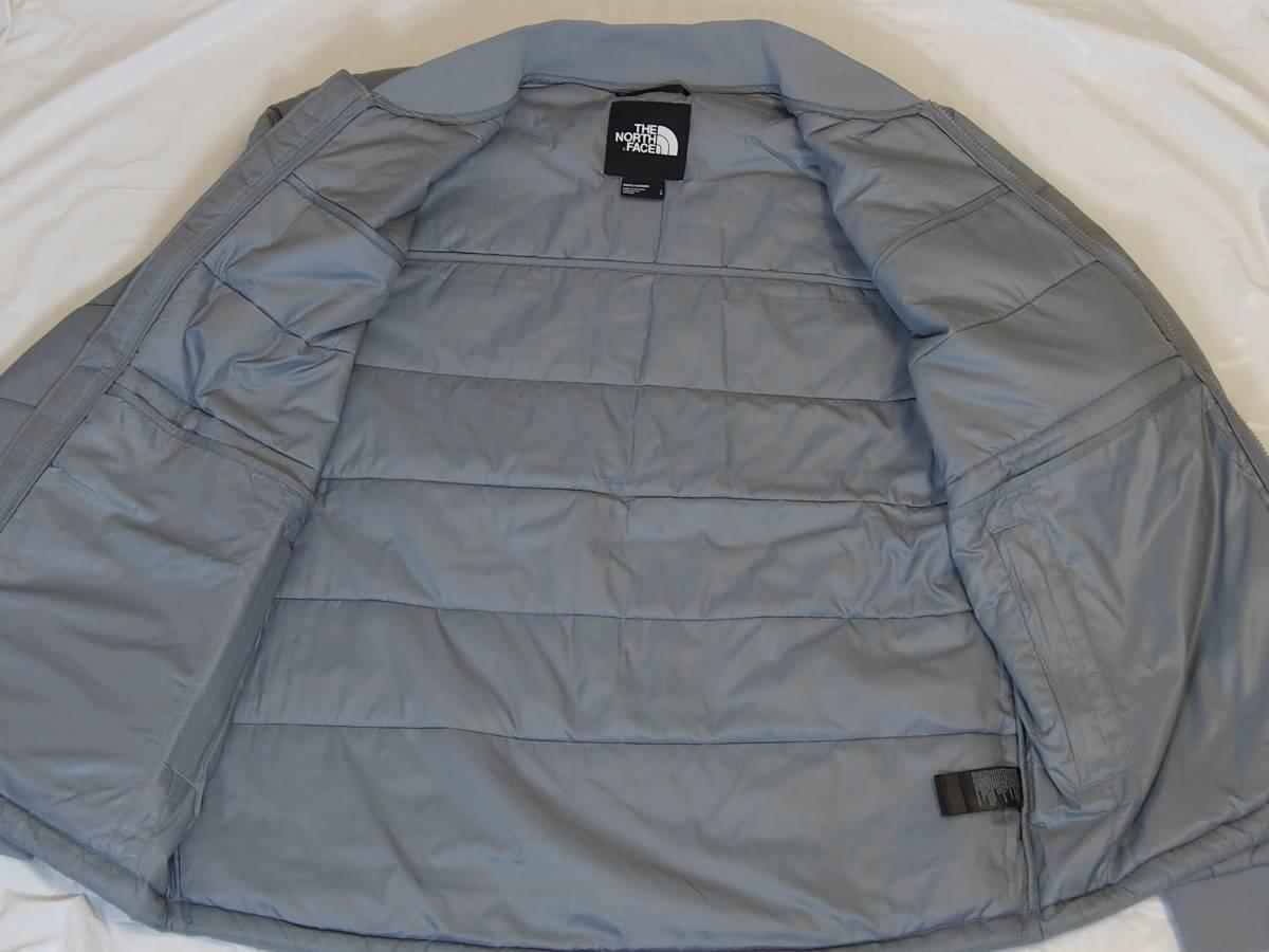 【USA購入、未使用タグ付】ノースフェイス 中綿ジャケット Lサイズ グレー The North Face Pardee Jacket_画像4