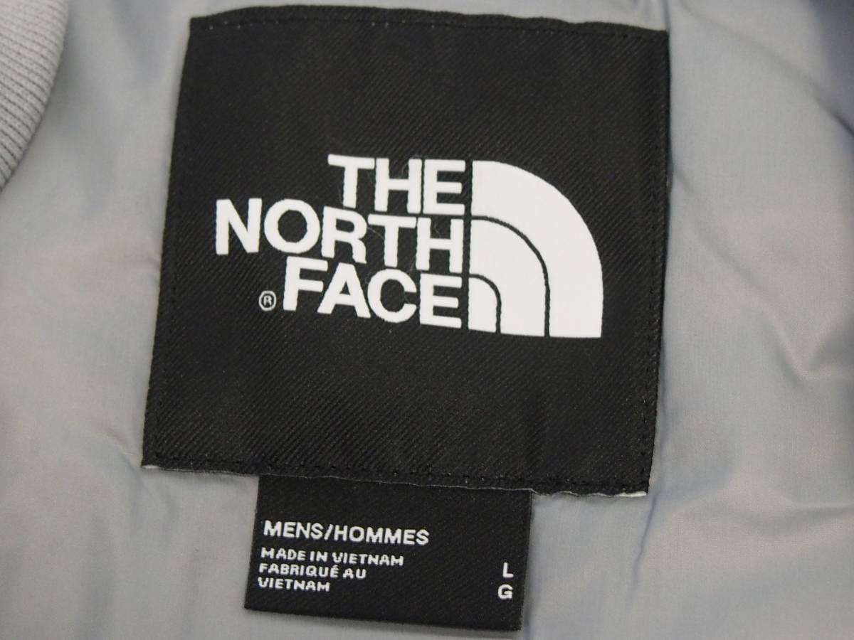 【USA購入、未使用タグ付】ノースフェイス 中綿ジャケット Lサイズ グレー The North Face Pardee Jacket_画像5
