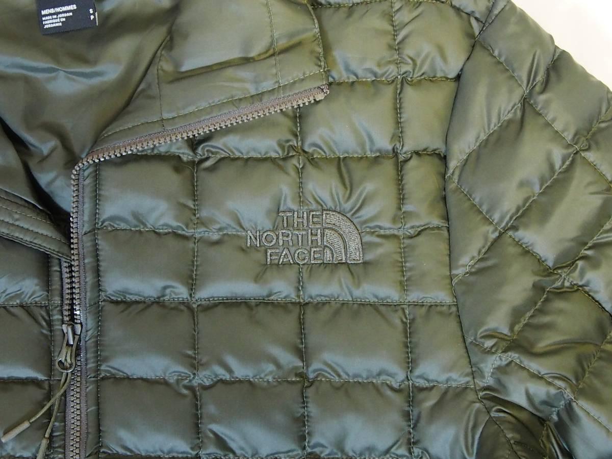 【USA購入、未使用タグ付】ノースフェイス メンズ Thermoball Eco ジャケット Sサイズ グリーン The North Face NEW TAUPE GREEN_画像2