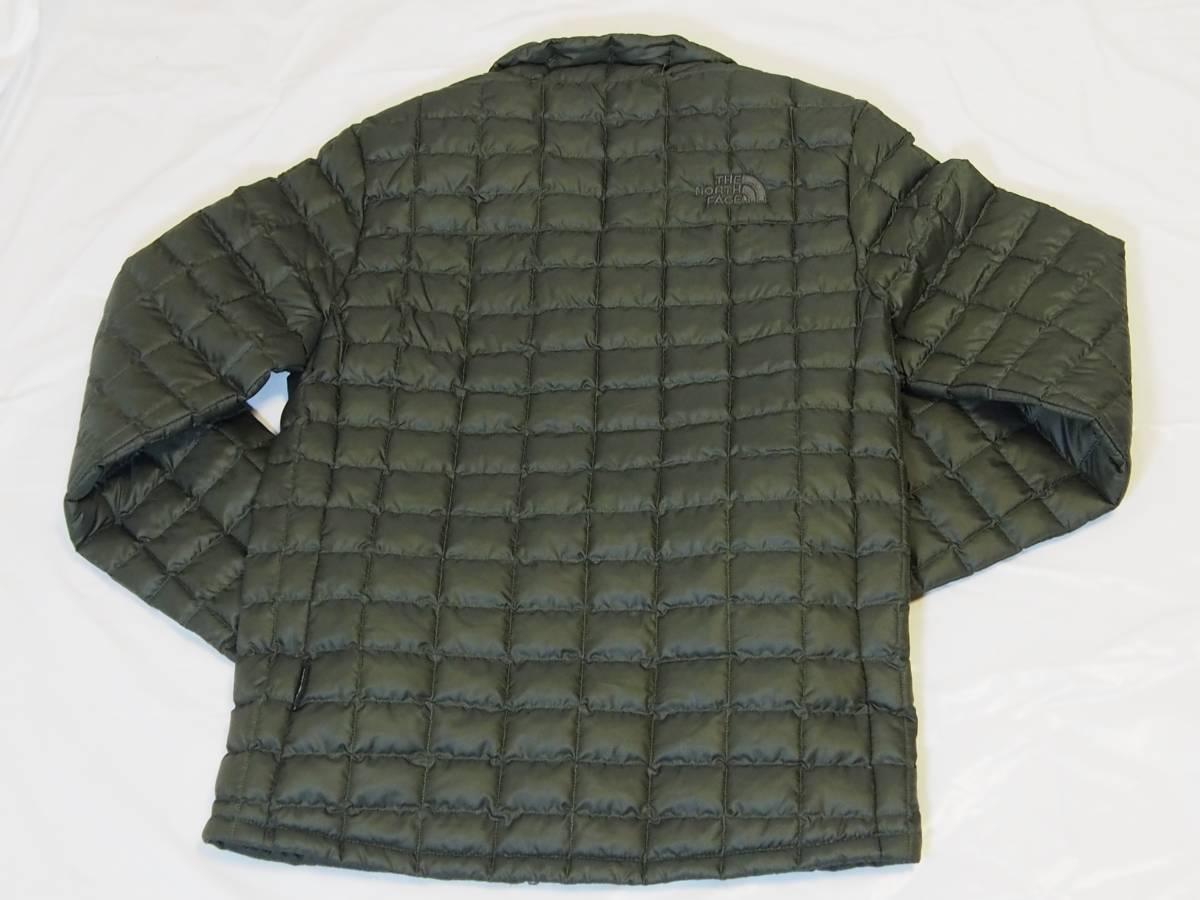 【USA購入、未使用タグ付】ノースフェイス メンズ Thermoball Eco ジャケット Sサイズ グリーン The North Face NEW TAUPE GREEN_画像3