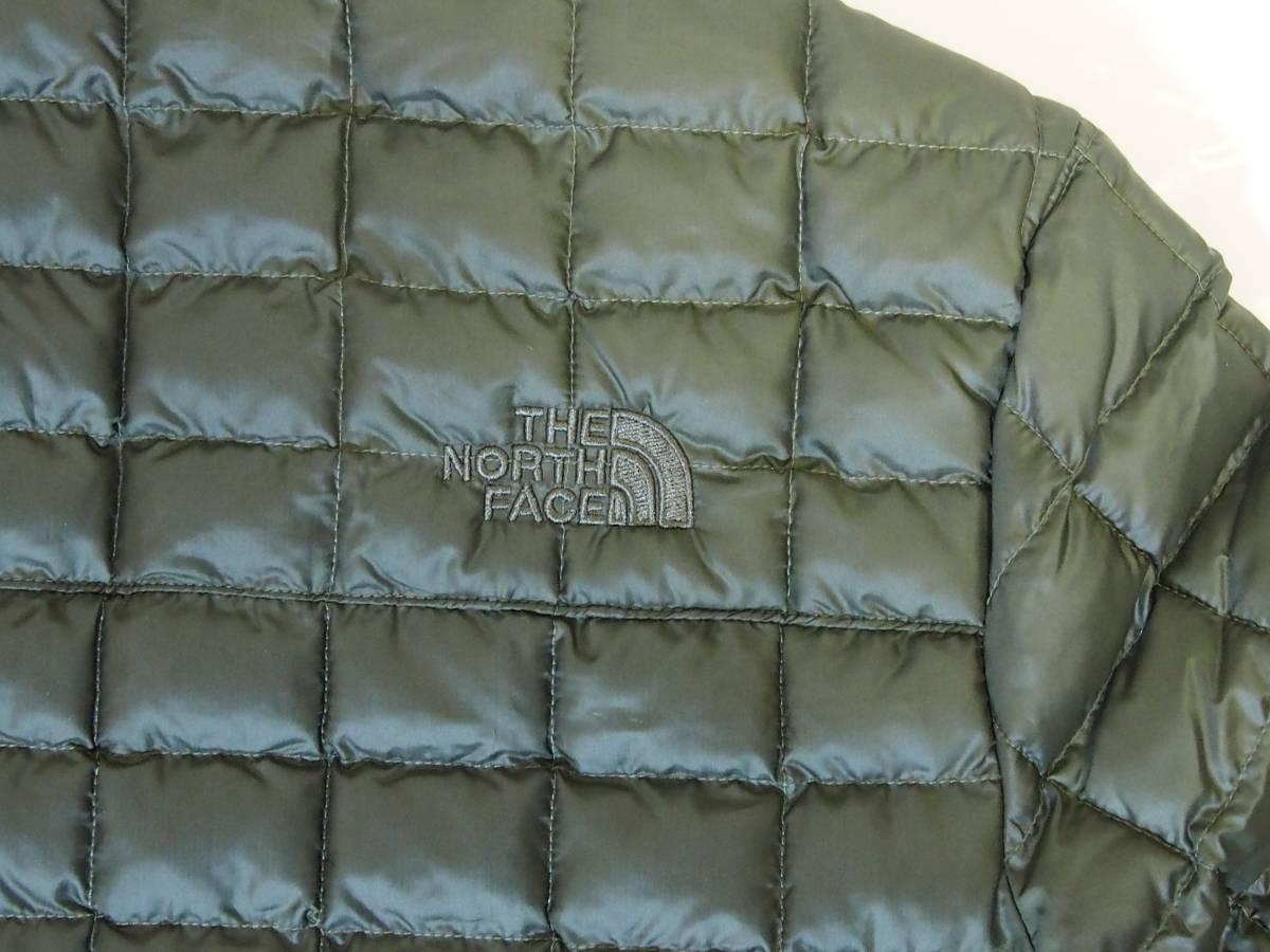 【USA購入、未使用タグ付】ノースフェイス メンズ Thermoball Eco ジャケット Sサイズ グリーン The North Face NEW TAUPE GREEN_画像4