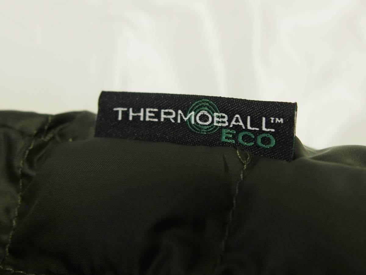 【USA購入、未使用タグ付】ノースフェイス メンズ Thermoball Eco ジャケット Sサイズ グリーン The North Face NEW TAUPE GREEN_画像6