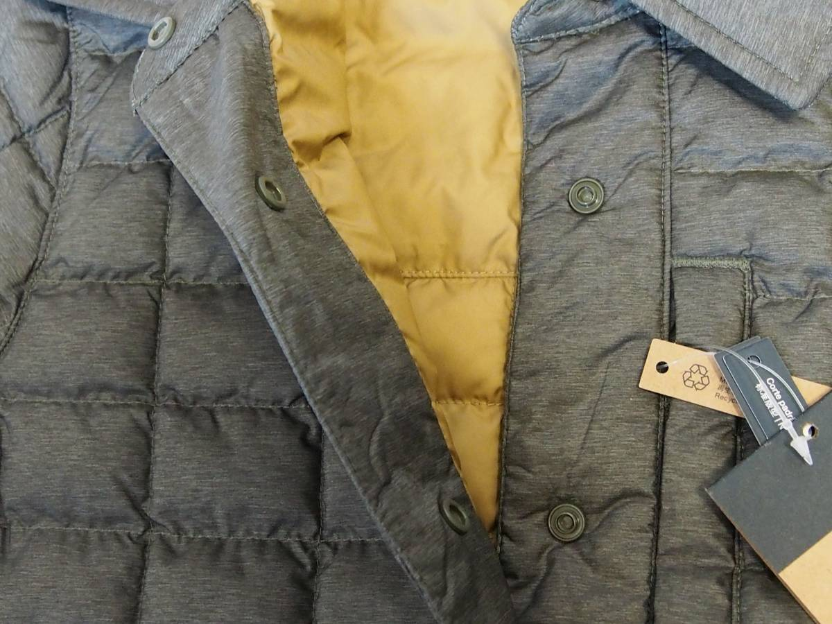 【USA購入、未使用タグ付】ノースフェイス レディース ThermoBall ジャケット S グリーン系 The North Face ThermoBall Eco Snap Jacket_画像5