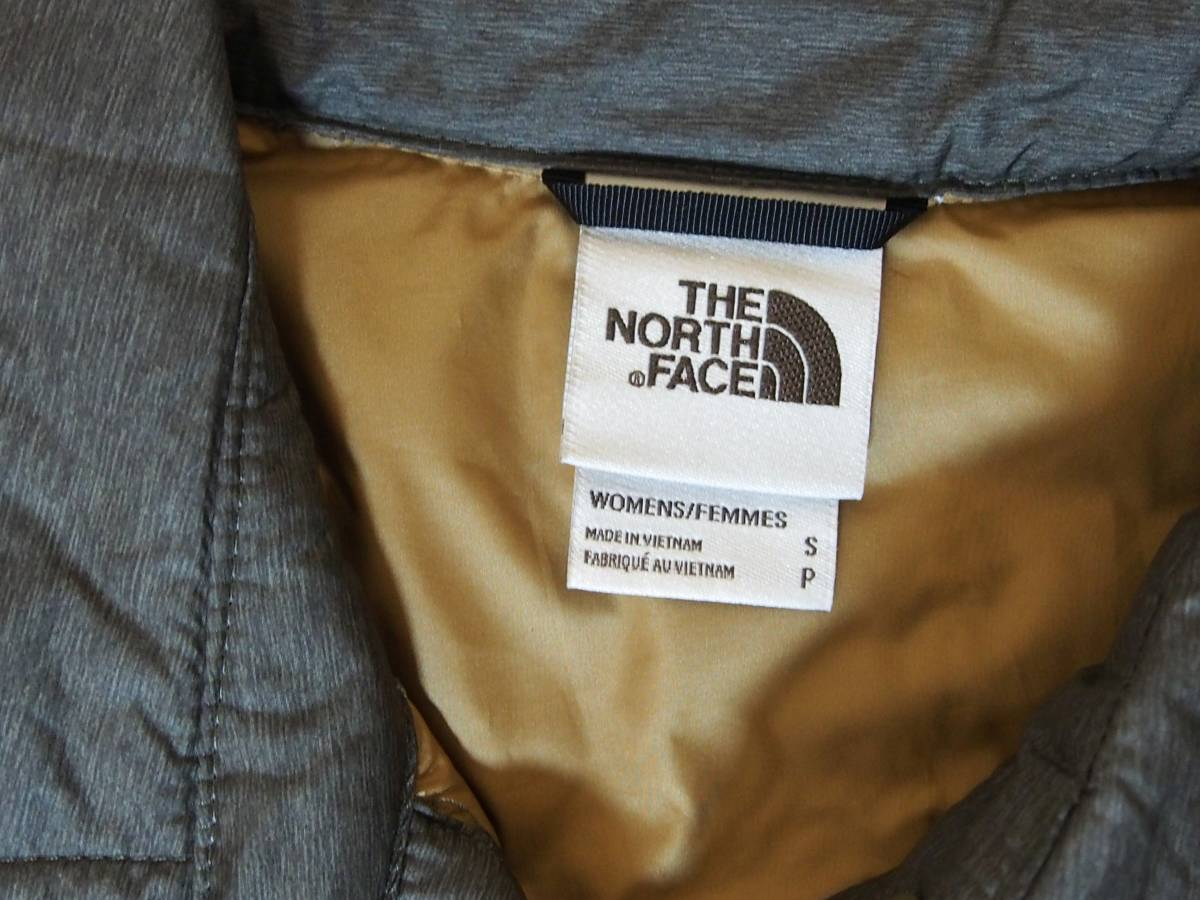【USA購入、未使用タグ付】ノースフェイス レディース ThermoBall ジャケット S グリーン系 The North Face ThermoBall Eco Snap Jacket_画像6