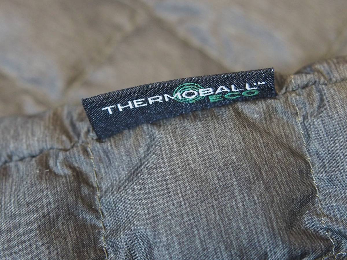 【USA購入、未使用タグ付】ノースフェイス レディース ThermoBall ジャケット S グリーン系 The North Face ThermoBall Eco Snap Jacket_画像7