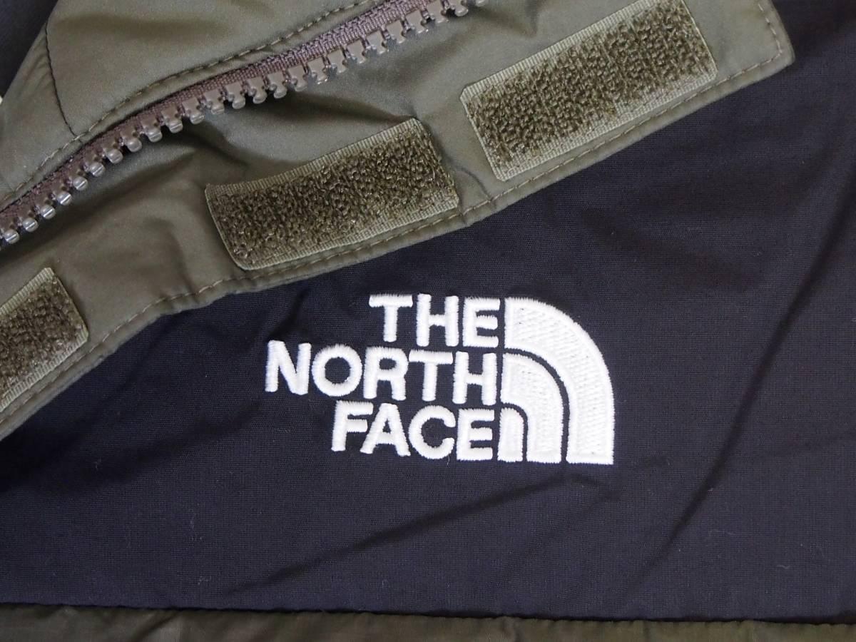 【USA購入、未使用タグ付】ノースフェイス Balham ダウンジャケット メンズ L グリーン Balham Down Jacket NEW TAUPE GREEN MATTE_画像2