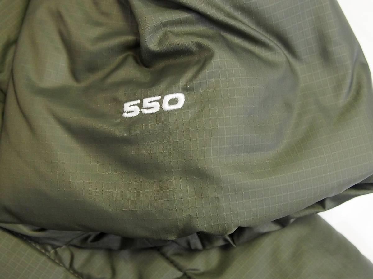 【USA購入、未使用タグ付】ノースフェイス Balham ダウンジャケット メンズ L グリーン Balham Down Jacket NEW TAUPE GREEN MATTE_画像6