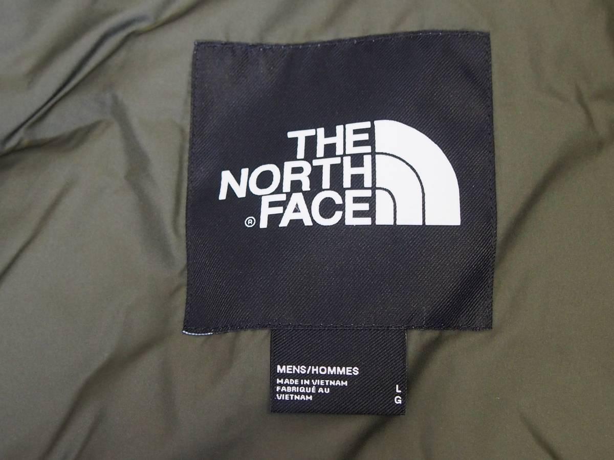 【USA購入、未使用タグ付】ノースフェイス Balham ダウンジャケット メンズ L グリーン Balham Down Jacket NEW TAUPE GREEN MATTE_画像7