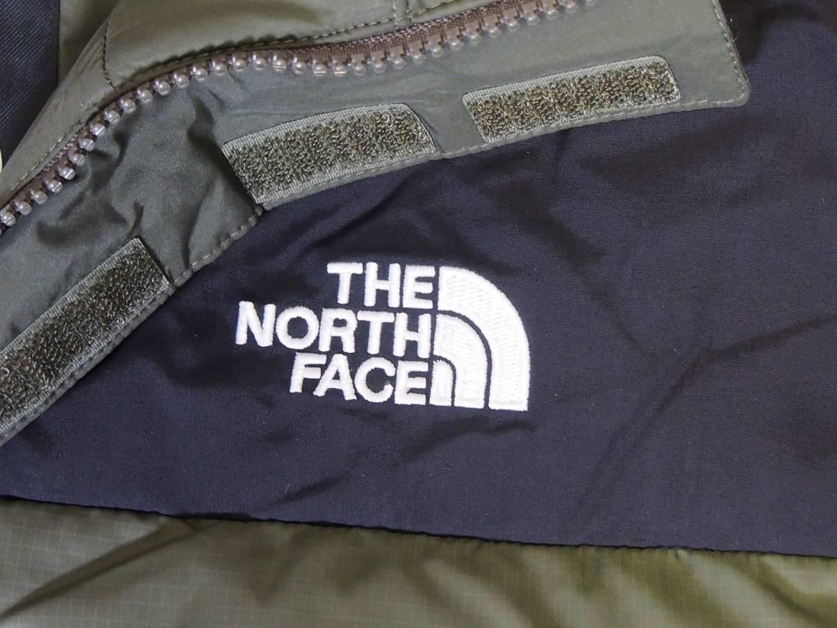 【USA購入、未使用タグ付】ノースフェイス Balham ダウンジャケット メンズ M グリーン Balham Down Jacket NEW TAUPE GREEN MATTE_画像2