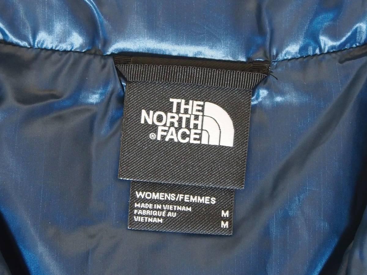 【USA購入、未使用タグ付】ノースフェイス レディース(メンズ可) 中綿ベスト M ブルー×ブラック The North Face Thermoball Eco Vest_画像6
