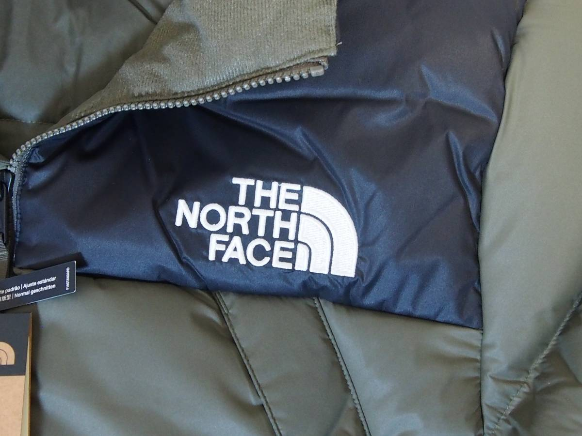【USA購入、未使用タグ付】ノースフェイス UX ダウンジャケット M グリーン The North Face UX Down Parka TNF BLACK/NEW TAUPE GREEN_画像2
